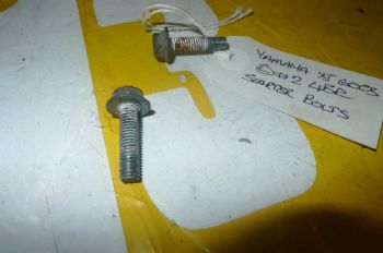YAMAHA XJ600 S DIVERSION BREAKING. STARTER BOLTS #2 (WEB-STOCK)(A=SK) YELLOW 13  (CON-D)